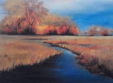 Golden Marsh by Marcia Crispino