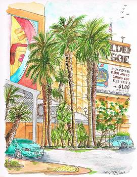 Golden Nugget Hotel and Casino Entrance, Laughlin, Nevada by Carlos G Groppa