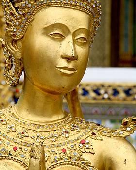 Golden Palace in Bangkok by Marigan O'Malley-Posada