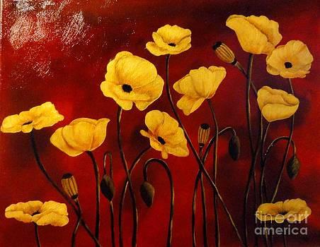Golden Poppies by Carol Avants