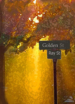 Golden Ray Street by Dawn  Gagnon