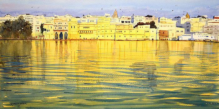 Golden Reflections by Ramesh Jhawar
