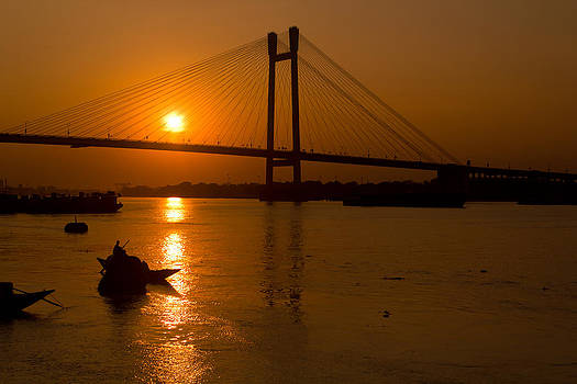 Golden sail by Sourav Bose