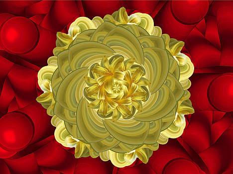 Golden by Saina Art