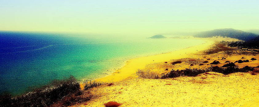 Golden Sands as long as you can see  by Hilde Widerberg
