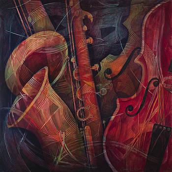 Golden Sax by Susanne Clark
