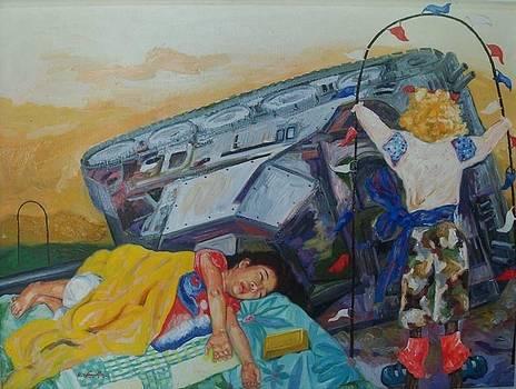 Golden Slumber by Edwin Jumalon