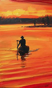 Golden Solitude by Jack Hanzer Susco