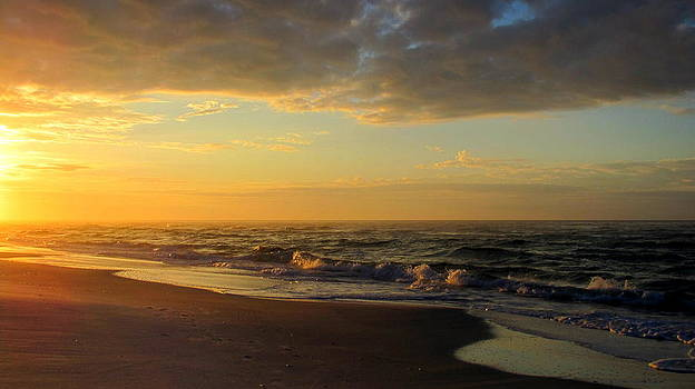 Golden sunrise by Denise   Hoff