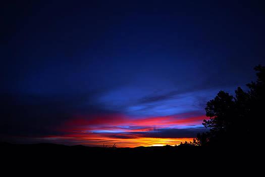 Matt Swinden - Golden Sunrise Over Colorado