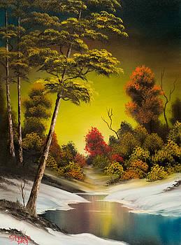 Chris Steele - Winter Sunset