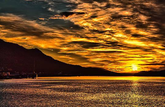 Golden Sunset by Timothy Latta
