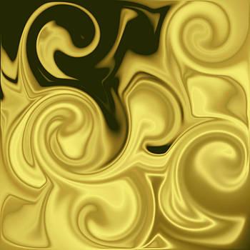 Golden Swirls by Ricky Haug