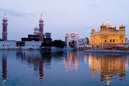 Devinder Sangha - Golden Temple and Towers