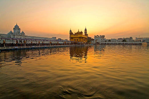 Devinder Sangha - Golden Temple at Golden Hour
