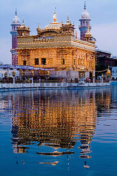 Devinder Sangha - Golden Temple with reflection