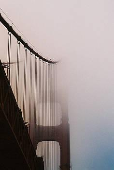 Golden Tower in the Fog by Lisa Lieberman
