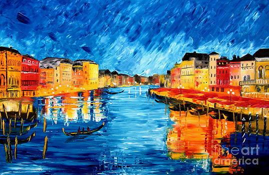 Golden Venice by Mariana Stauffer