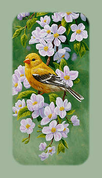Crista Forest - Goldfinch iPhone Case V1