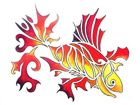 Goldfish 2 by Diane Ellingham