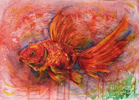 Zaira Dzhaubaeva - Goldfish