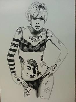 Goldie Hawn by Kelli Uysaloglu