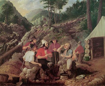 Albertus Del Orient Browere - Goldminers