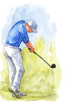 Rico Kohlstedt - Golf  Aquarelle