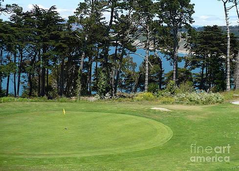 Danielle Groenen - Golf Course over the Bay