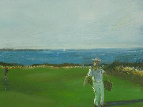 Golf In Torekov by Joakim  Nilsson