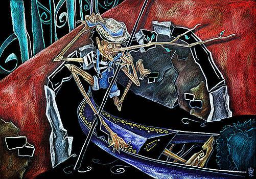 Arte Venezia - Gondola Travel Venice Italy - Viaggi e Avventure di Pinocchio Gondoliere in Italia