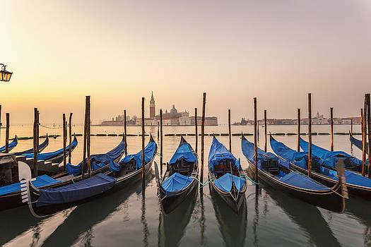 Gondolas by Antonio Violi