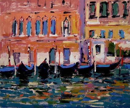 Gondolas IV by R W Goetting