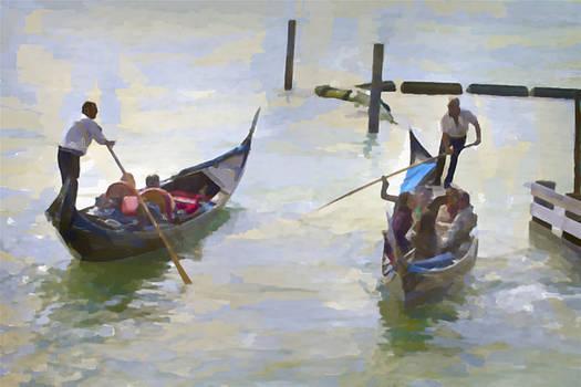 Gondolas by John Hix