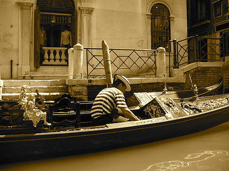 Gondolier by Jules Smith