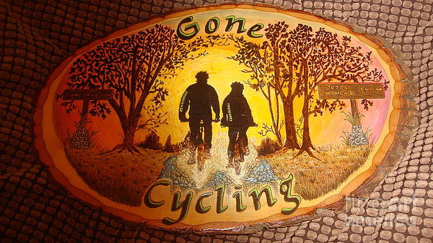 Gone Cycling by Dakota Sage