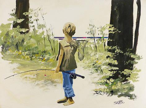 Gone Fishing by Jack Hanzer Susco