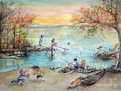 Gone Fishing by Laneea Tolley