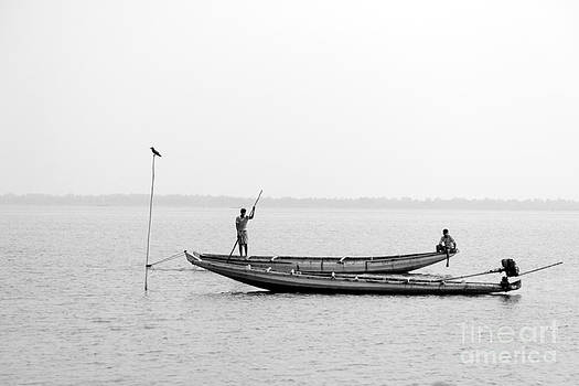 Gone fishing by Vishakha Bhagat