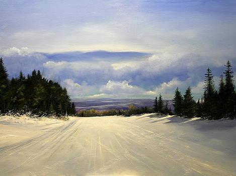 Gonna Snow again by Ken Ahlering