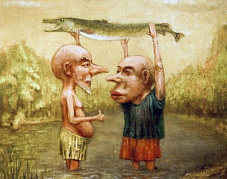 Good  catch by Vladimiras Nikonovas