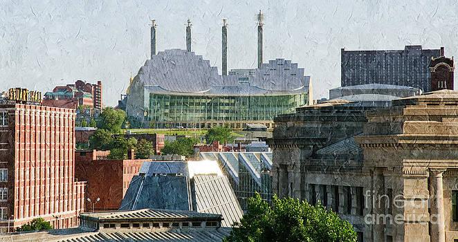 Andee Design - Good Morning Kansas City Skyline Painterly