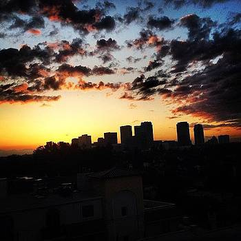 Good Morning Los Angeles #sunrise by Ben Tesler