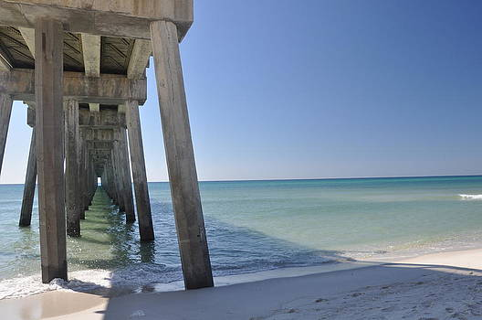 Good Morning Pier by Vonda Barnett