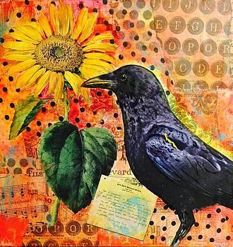 Good Morning Sunflower  by Kitty Miller