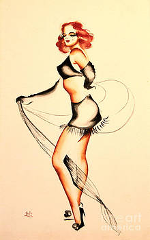 Art By Tolpo Collection - Good Night Ladies Dancer