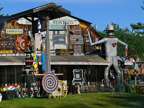 Good time Stove Store in Goshen Mass by Bill Marder