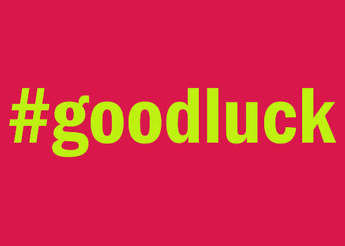 #goodluck by Viv Griffiths