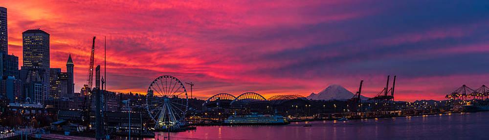 Goodmorning Seattle by Gary Larson