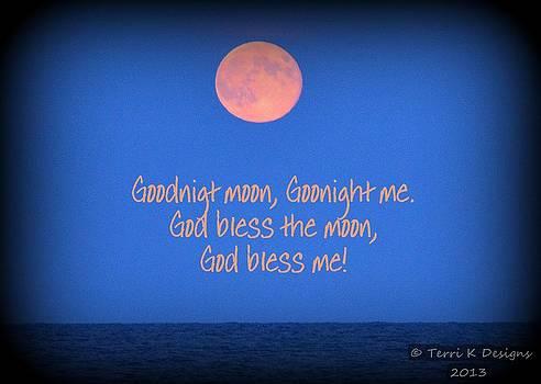 Goodnight Moon by Terri K Designs